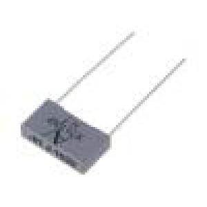 Kondenzátor polypropylénový 10nF 15mm ±5% 18x4x10mm 3,3kV/μs