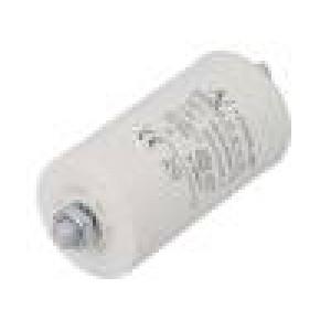 Kondenzátor pro motory, pracovní 20uF 420V Ø45x74mm -25÷85°C