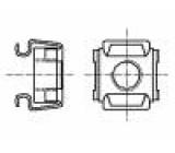 Matice klecová M8 nerezová ocel A2 BN:3307