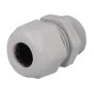 Průchodka M20 IP68 6÷12mm Mat: termoplast šedá
