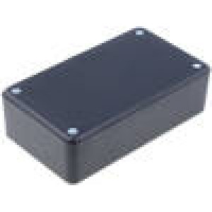 Kryt: univerzální X:71mm Y:124mm Z:38mm ABS černá