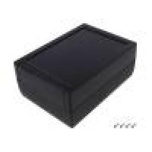 Kryt: univerzální X:133mm Y:188mm Z:75mm TEKMAR ABS černá
