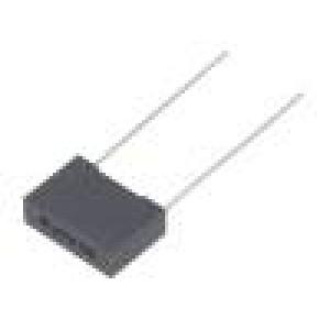 Kondenzátor: polyesterový 10nF 220VAC 630VDC Rozteč:10mm ±10%