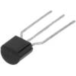 BC550CTA Tranzistor: NPN bipolární 45V 100mA 500mW TO92