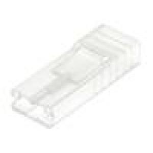 Návlek na konektor zásuvka pro fastony 6,3mm póly:1