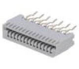 Konektor: FFC (FPC) přímý PIN:14 NON-ZIF THT 200V pocínovaný