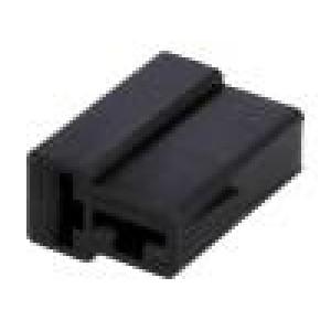 Návlek na konektor zásuvka pro fastony 6,3mm póly:2
