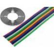 Vodič: plochý kabel licna Cu 12x1mm2 PVC 500V