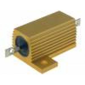 Rezistor: drátový s chladičem přišroubováním 18Ω 25W ±1%