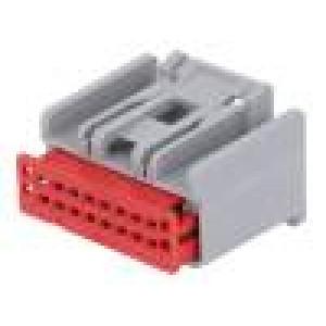 Konektor: automotive H-DAC 64 zástrčka zásuvka PIN:16 šedá