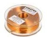 Tlumivka: vzduchová cívka 1,5mH 0,7Ω Prům.vod:1mm Ø:58mm