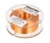 Tlumivka: vzduchová cívka 3,3mH 2,6Ω Prům.vod:0,6mm Ø:48mm