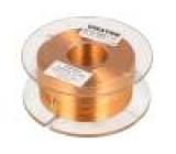 Tlumivka: vzduchová cívka 3,3mH 1,1Ω Prům.vod:1mm Ø:71mm
