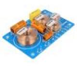 Filter: audio crossover 4Ω Pmax:160W 800/5000Hz 12dB/oct
