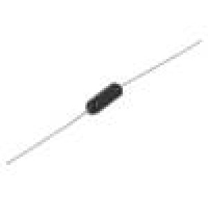 Rezistor: metal film 10Ω 1W ±1% 100ppm/°C audio