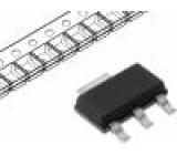 Tyristor 400V 500mA 800mA 200uA SOT223 Balení: role, páska