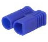 Zástrčka napájecí DC vidlice na kabel pájení Barva: modrá 30A