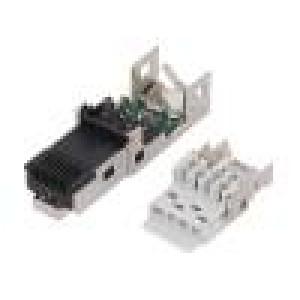 Kryt RJ45 IP67 na kabel přímý