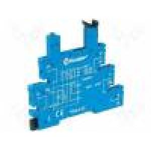 Patice PIN:5 6A 250VAC Montáž: DIN Výv: pružinové svorky IP20