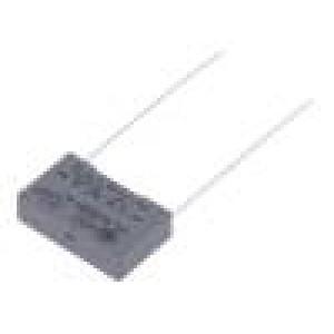 R463I315000M2M Kondenzátor polypropylénový X2 150nF 15mm ±20% 18x6x12mm