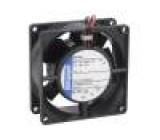 Ventilátor: DC axiální 24VDC 80x80x32mm 80m3/h 48dBA