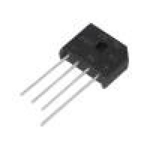 Jednofázový usměrňovací můstek Urmax:600V If:6A Ifsm:175A
