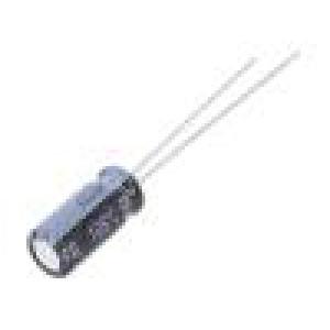 Kondenzátor elektrolytický s nízkou impedancí THT 10uF 50VDC
