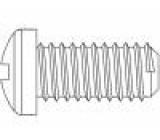 Šroub M8x35 Hlava: válcová Phillips polyamid Norma ISO:7045