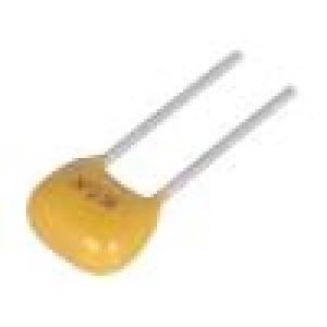 Kondenzátor keramický MLCC, monolitický 1uF 50V X8L ±10% THT
