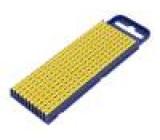 Kabelové značky pro kabely a vodiče Symbol štítku: F polyamid