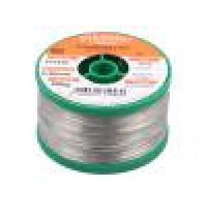 Solder Sn96Ag4 soldering wire 0.5mm 250g Flux: F-SW26