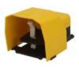 Přepínač: nožní 1-polohové NC + NO 3A/250VAC IP65 Barva: žlutá