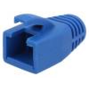 Krytka vidlice RJ45 8mm Barva: modrá