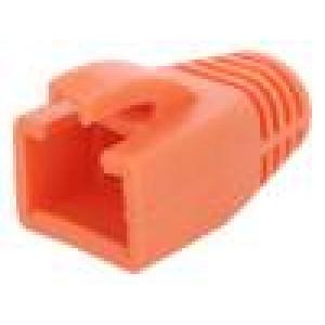 Krytka vidlice RJ45 8mm Barva: oranžová