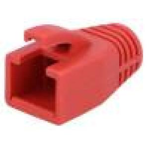 Krytka vidlice RJ45 8mm Barva: červená