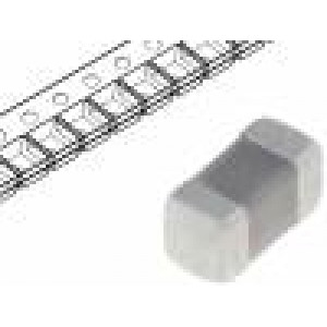 Kondenzátor: keramický MLCC 1nF 50V X7R ±10% SMD 0402