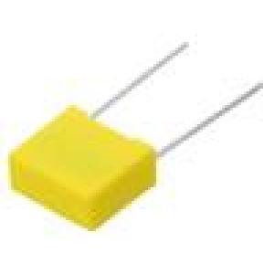 MKP-X2-2U2R22/310 Kondenzátor: polypropylénový 2,2uF 22,5mm ±10% 26,3x21,5x12mm