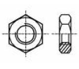 Matice šestihranná M5 mosaz Povlak: bez povrchové úpravy 8mm