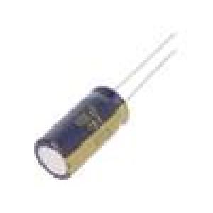 Kondenzátor elektrolytický s nízkou impedancí THT 1000uF