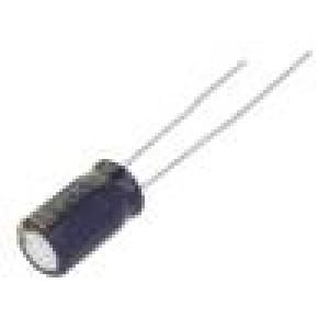 Kondenzátor elektrolytický s nízkou impedancí THT 100uF ±20%