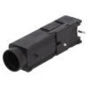 Pouzdro trubičkové pojistky Montáž: PCB 5x20mm,6,3x32mm 15A