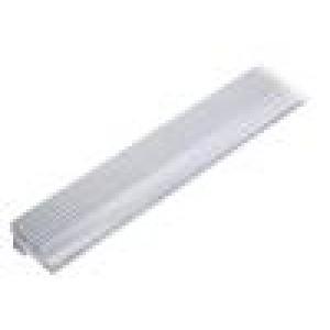 Chladič: lisovaný Y přírodní L:1000mm W:30mm H:45mm hliník