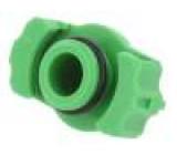 Adaptér pro stříkačku 10ml Barva: zelená Řada výrobce: QuantX