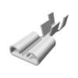 Konektor: plochý 6,3mm 0,8mm zásuvka 1÷2,5mm2 krimpovací