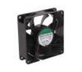 Ventilátor: DC axiální 12VDC 80x80x25mm 28dBA Vapo 24AWG