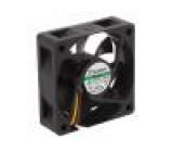 Ventilátor: DC axiální 12VDC 60x60x20mm 38,87m3/h 33,5dBA