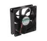Ventilátor: DC axiální 12VDC 92x92x25mm 87,04m3/h 34dBA Vapo