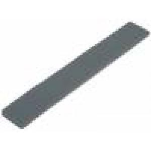 Páska: termovodivý L:130mm W:20mm D:3mm 6W/mK