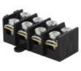Svorkovnice do panelu, na kabel, upevňovací otvory póly:4 57A
