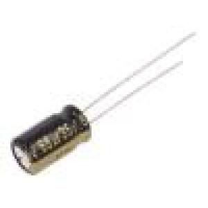 Kondenzátor elektrolytický s nízkou impedancí THT 68uF 35VDC